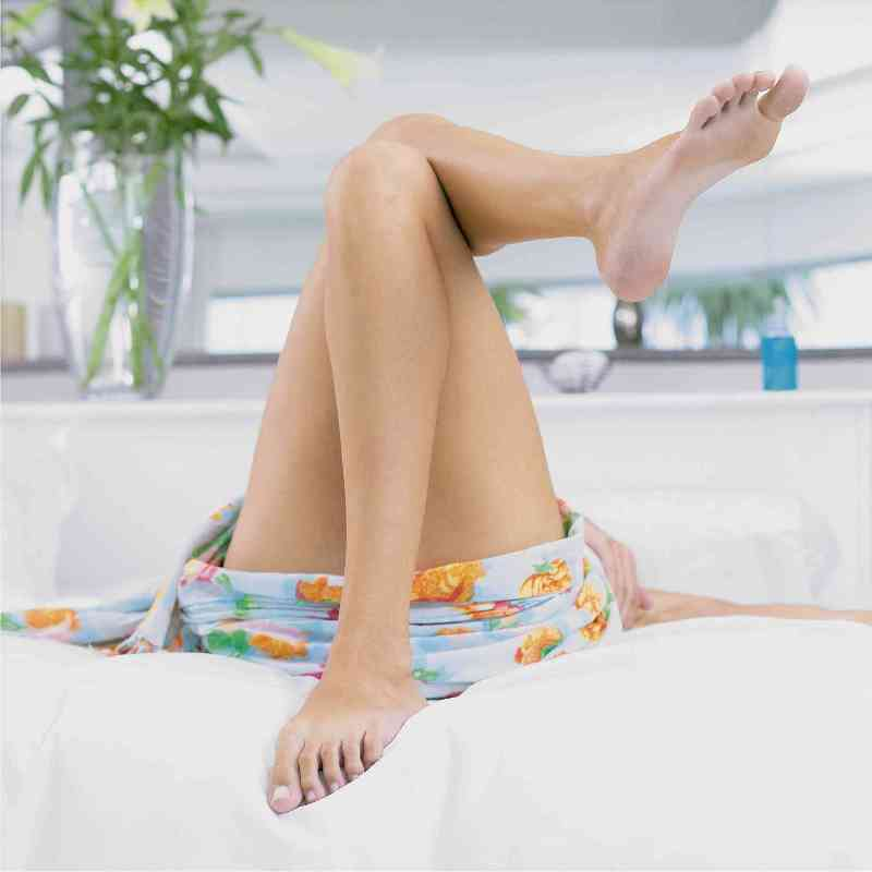 как делать депиляцию ног